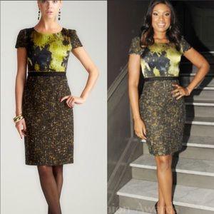 Elie Tahari Lolly Tweed Dress